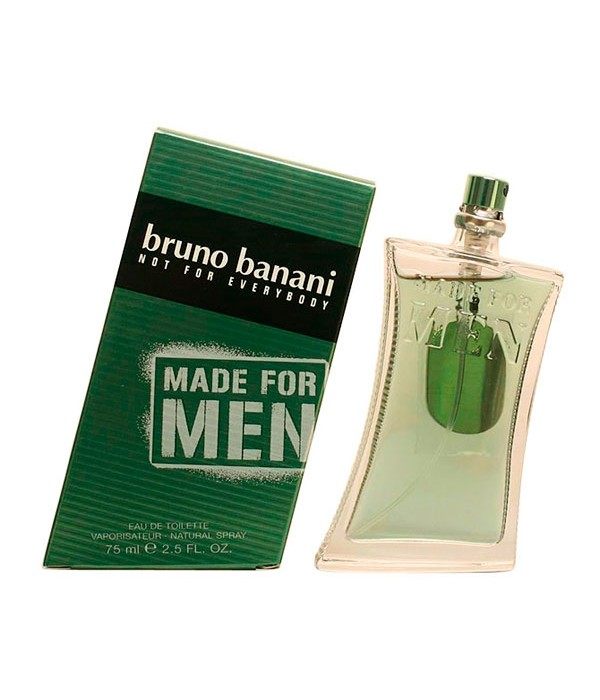 Bruno Banani - MADE FOR MEN edt vaporizador 75 ml